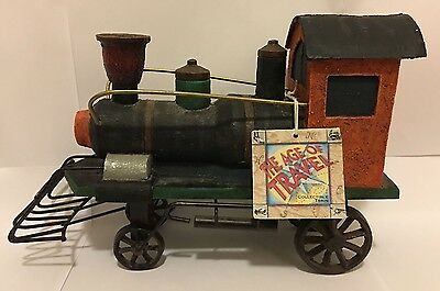 The Age Of Travel Collectible Diecast Train Engine By Russ Berrie #13425