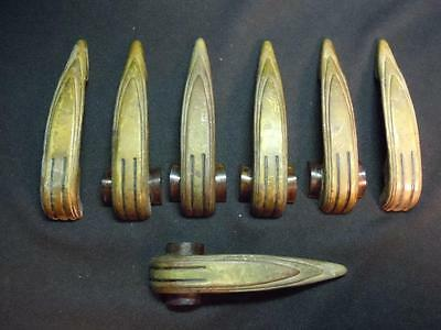 Mn] 7 Pc Lot Of Deco-Style Drawer Pulls