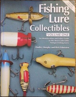 ANTIQUE FISHING LURE MEMORABILIA VALUE GUIDE COLLECTOR'S BOOK 400 pages