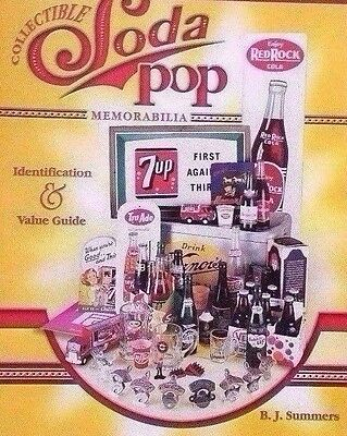 SODA POP VALUE GUIDE COLLECTOR'S BOOK  Moxie AW Root Beer Orange Crush++