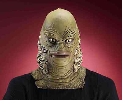 Creature from the Black Lagoon Costume Mask Collectors Edition Adult Latex