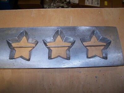 Star Cookie Die Commercial Dough Depositor  ~ believed Champion 16x5.5 inches