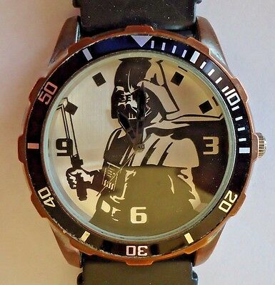 Darth Vader men's watch by Accutime working