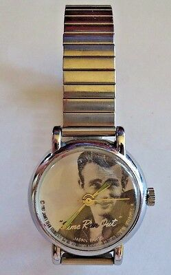 1987 James Dean Time Ran Out watch by HBL Working wind up