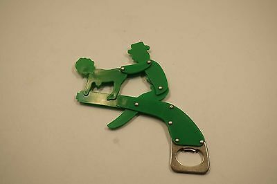 Vintage Moveable Erotic Plastic Beer Soda Bottle Opener  A683