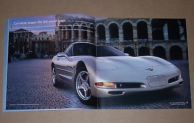 CHEVY CORVETTE (2002) Brochure packet