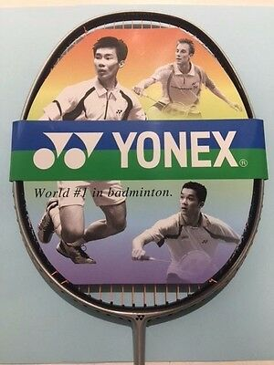 YONEX Ti ZERO LTD BADMINTON RACKET STRUNG MADE IN JAPAN ULTRA LIGHT WITH COVER