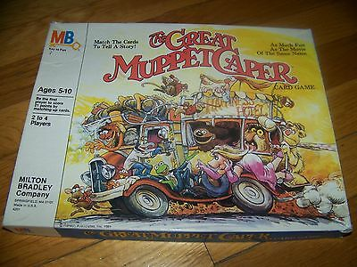 The Great Muppet Caper Game - Milton Bradley Co. 1981 - Complete!