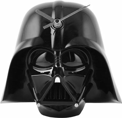 "STAR WARS - 6"" Darth Vader 3D Helmet Clock (Wesco) #NEW"