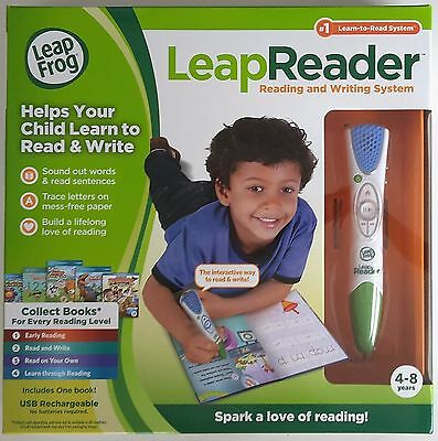 New Leapfrog Leap-Reader Reading And Writing System Green/blue 21301