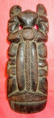 Vintage Old Collectible Hand Carved Wooden Statue / Figurine
