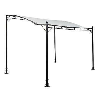 3 X 2.5 M Garden Door Windiow Canopy Garden Patio Sunshade Weatherproof Awning
