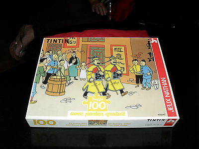 PUZZLE  TINTIN - HERGE - complet
