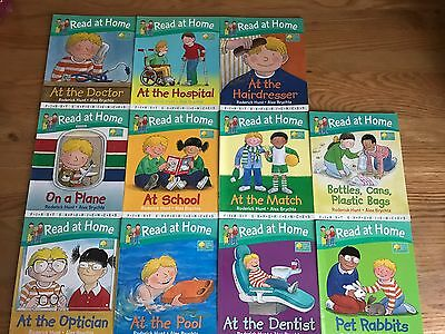Read at Home First Experiences Books Collection Oxford Reading Tree Level 4 WD19