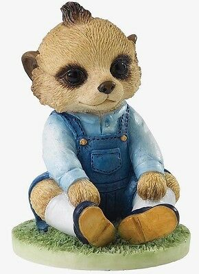 Magnificent Meerkats George Figurine Ornament (CA04510) By Country Artists NEW