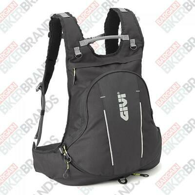Givi EA104B Expandable Motorcycle Rucksack Helmet Holder Backpack - 22 Litres