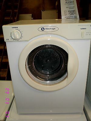 #87#  WHITE KNIGHT 3kg Vented Tumble Dryer   -PLYMOUTH-