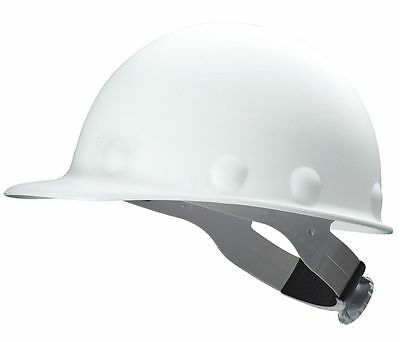 Fibre-Metal P2ASW01A000 Roughneck P2 Cap Style Hard Hat with Swing Strap, White