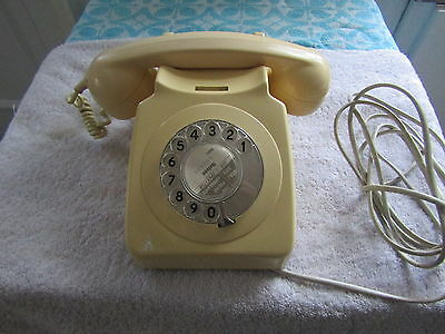 Vintage Retro Dial Telephone In Lovely Working Order