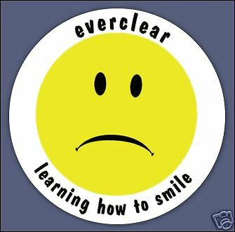 Everclear sticker Learning How To Smile Afterglow