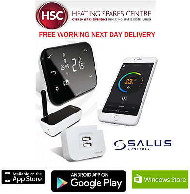 Salus It500 Internet Wireless Smart Phone Programmable Heating Thermostat New
