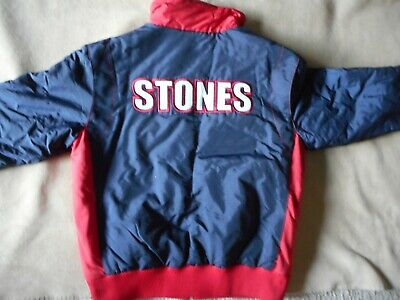 "Rolling Stones 2002-2003 Tour Jacket ""40 Licks Tour"" Like New With Tags"