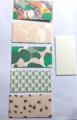 Assorted Pack Of 5  Quality Money Gift Wallet Cards & Envelopes 5 Great Designs