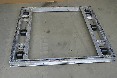 """Rack of 5, B&P Manufacturing PD-4848-6T Pallet Dollies, Dolly, 48""""x48"""", 4000 lbs"""