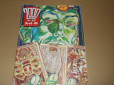 2000AD featuring Judge Dredd Sci-fi Holiday Special Comic from 1990