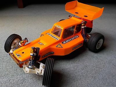 Brushless Team Associated RC10 Classic with JConcepts upgrades