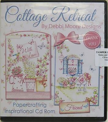 Debbi Moore Designs Hütte Retreat Papierhandwerk CD (324781)