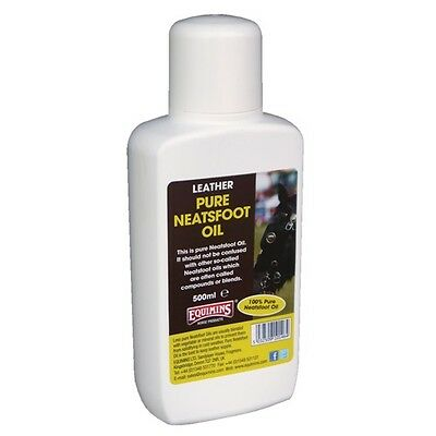 Equimins Pure Neatsfoot Oil Neatsfoot oil will keep leather very supple