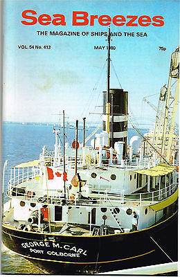 """Sea Breezes May 1980 Breakers Take The """"Sinbad I"""", Wreck Of The """"Oceanic"""""""
