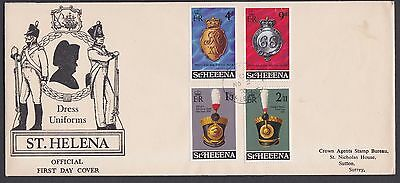 Stamps St Helena 1970 FDC