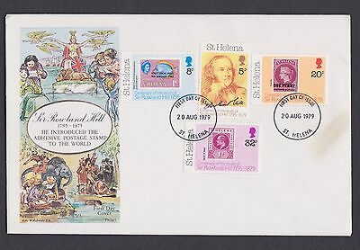 Stamps St Helena 1979 FDC
