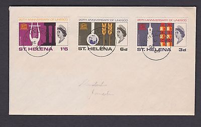 Stamps St Helena 1966 FDC