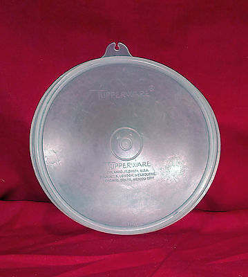 "Tupperware 5 ¾"" B tab sheer round replacement lid"