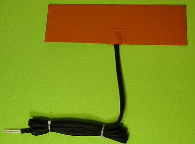 100 Watt 12 V Volt Silicone Pad Heater For Fuel Tanks , Hydraulic Reservoirs