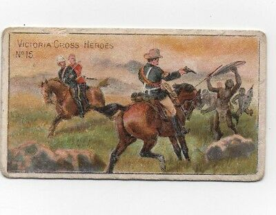 Taddy Victoria Cross Heroes Card No 15