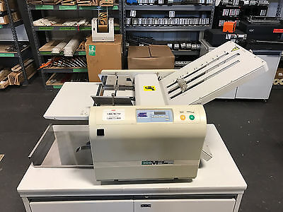 MBM 206M Paper Folder, Fast Setup 11x17 USED - Fully-Serviced & Tested!