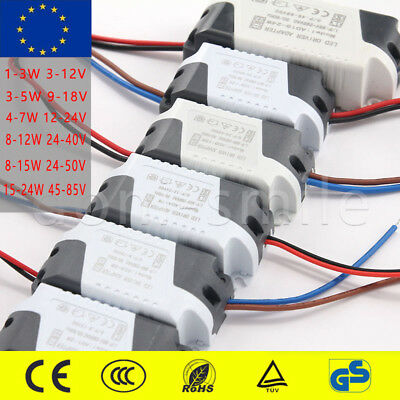 12V 300mA AC-DC LED Driver Adapter Transformer Power Supply 1/3/4/7/8/12/15/24W