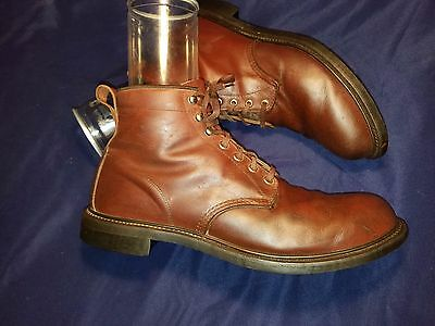 "Vintage Work America 6 "" full grain leather soft toe boots Men's size 13 C USA"