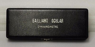 Bailliart Ocular Dynamometre- Vintage Ophthalmic Instrument- Look!!! Free Ship!