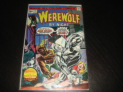 WEREWOLF BY NIGHT #32 1st Moon Knight  Marvel Comics 1975 FN