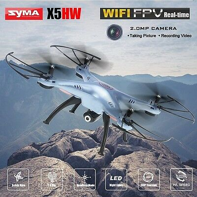 SYMA X5HW FPV RC Quadcopter Drone with WIFI Camera