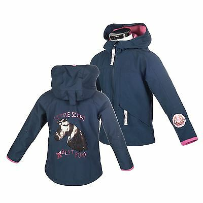 hkm Little Sister Softshell Jacke -Prinzessin- Windfest warm Hoch isoliert
