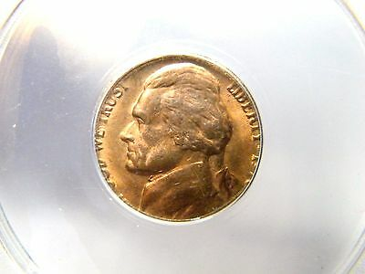 1978 5C Jefferson Nickel on Copper 1C Planchet ANACS MS64RB 85% RD PQ ON SALE