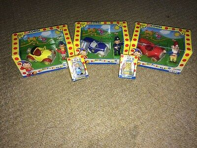 Boxed Noddy In Toyland Corgi Die-cast Models And Miniatures Job Lot