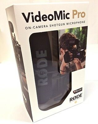 Rode VMP-R VideoMic Pro On-Camera Shotgun Microphone w/ Rycote Lyre Suspension