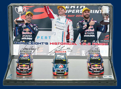 Craig Lowndes 1:43 Triple Pack 888 1-2-3 Finish Gisbergen Whincup 2016 Supercars